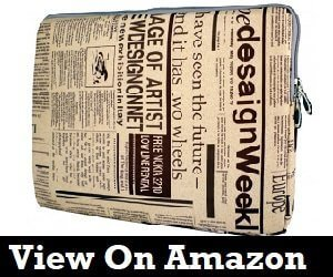 Newspaper Laptop Bags
