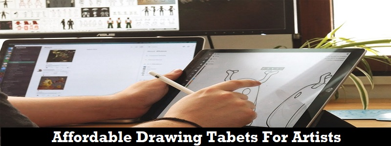 Best Affordable Drawing Tablets For Beginners & Professionals In 2018