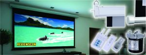Top 10 Best Motorized Projector Screens 2018 Reviews & Ultimate Guide