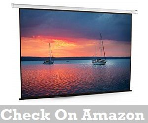 Best 100 inch Motorized Projector Screen Reviews