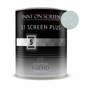 Premium Paint For Screen Wall