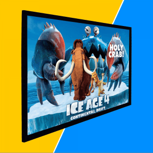 Best Projector Screen For Kids Entertainment