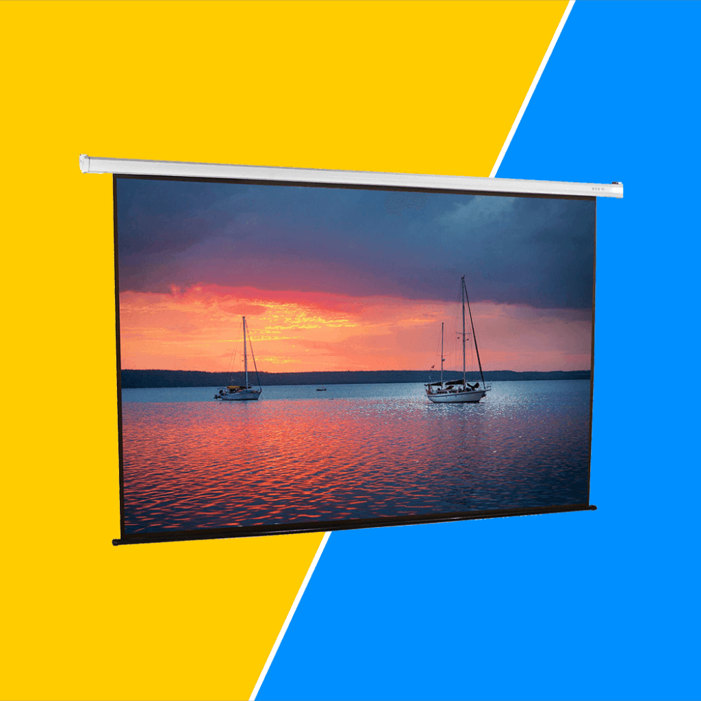 Motorized Projector Screen Under Budget