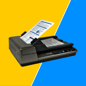 Heavy Duty Scanner For Office Use