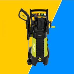 Electric Pressure Washer with Hose
