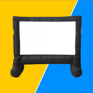 Inflatable Movie Screen For Family