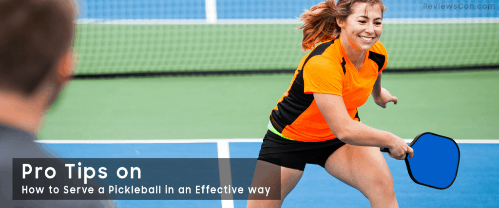 Pickleball Serve Guide