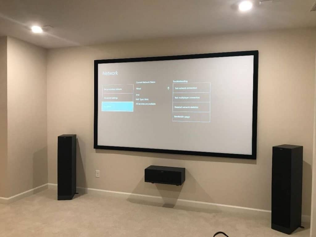 How To Set Screen Location In Home theater