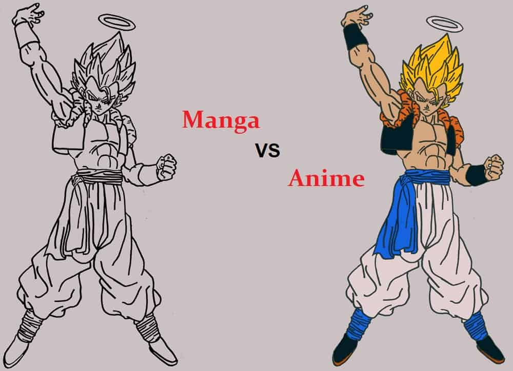 Difference Between Anime And Manga