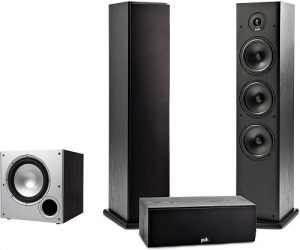Complete Home Theater System with Powered Subwoofer
