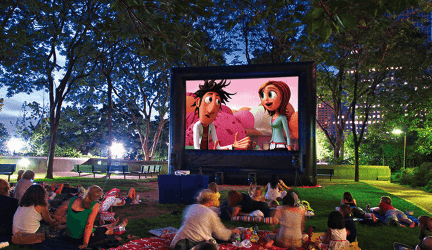 Best Inflatable Projector Screens To Buy Online (Ultimate Guide)
